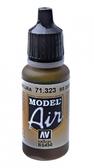 Краска акриловая ''Model Air'' BS темная земля