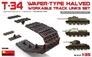 Набор рабочих траков для Т-34, СУ-122, СУ-85 (половинчатые) MiniArt 35216 основная фотография