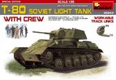 Советский легкий танк Т-80 с экипажем, специальная версия