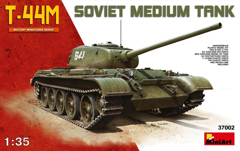 Советский средний танк Т-44 M MiniArt 37002