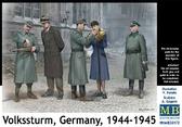 Фольксштурм, Германия, 1944-1945