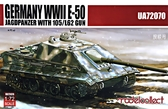 Немецкий тяжелый танк E-50 ''Stug'' из 105 мм пушкой L62