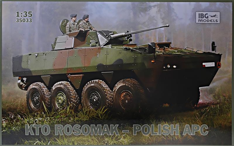 БТР ''Росомаха'' Polish APC IBG Models 35033