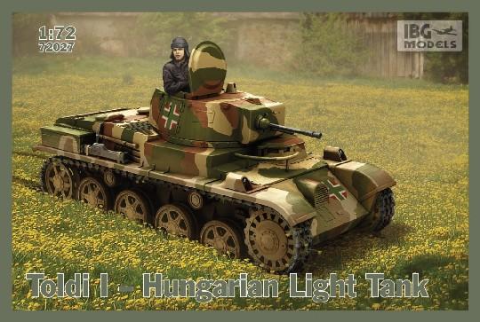 Венгерский легкий танк Toldi I IBG Models 72027