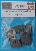 Катки для танка Valentine, тип 2