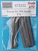 Траки для семейства танков M4, тип T74