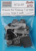 Колеса для автомобиля Vomag 7 or 660, тип 1