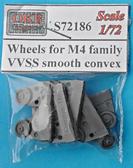 Катки для семейства танков M4, VVSS smooth convex