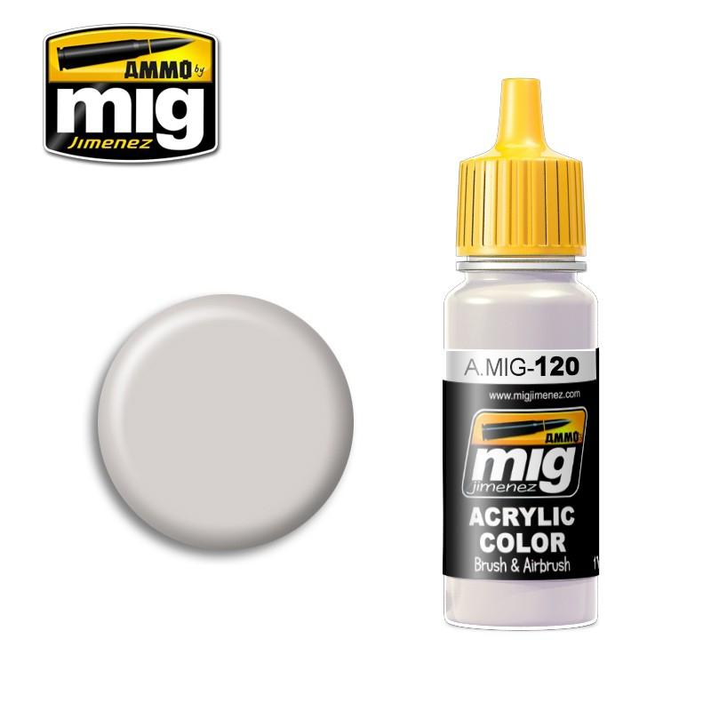 Акриловая краска AMMO A-MIG-0120: Светло-коричневый серый MIG (AMMO) 0120