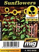 Растения, лазерная нарезка : Подсолнухи от MIG (AMMO)