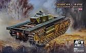 Танк Churchill Avre с Snake Launcher