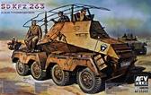 Бронеавтомобиль Panzerfunkwagen Sd.Kfz.263 8-Rad