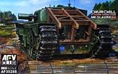Танк Churchill MK IV Avre с несущей рамой