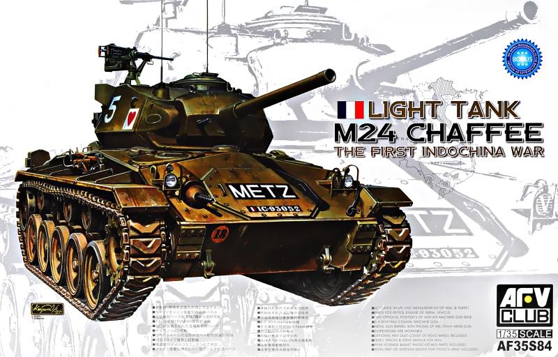 Легкий танк M24 ''Chaffee'', Вьетнамская война Afv-Club 3584
