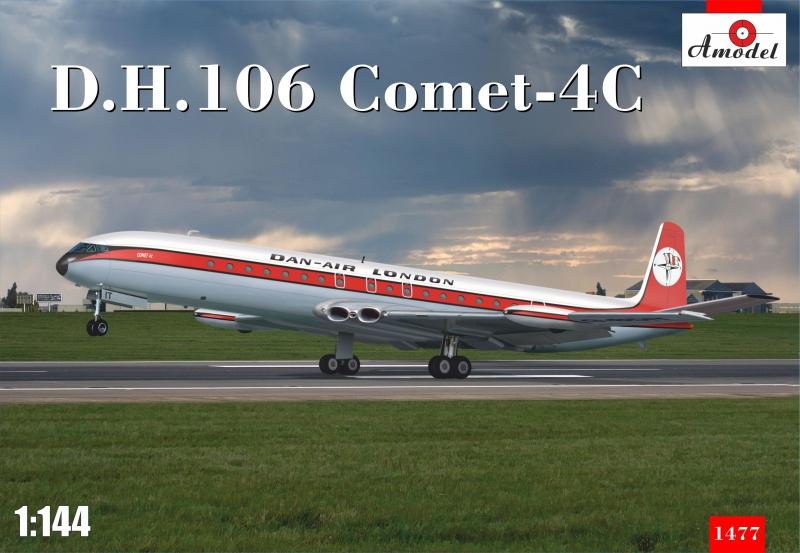 Пассажирский самолет D.H.106 Comet-4C Amodel 1477