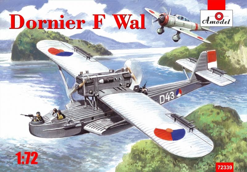 Немецкая летающая лодка Dornier J Wal, война в Восточной Индии Amodel 72339
