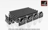 Траки для M1 Abrams, средний тип (solid teeth) с ведущими колесами