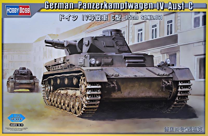 Немецкий танк Panzerkampfwagen IV Ausf C Hobby Boss 80130
