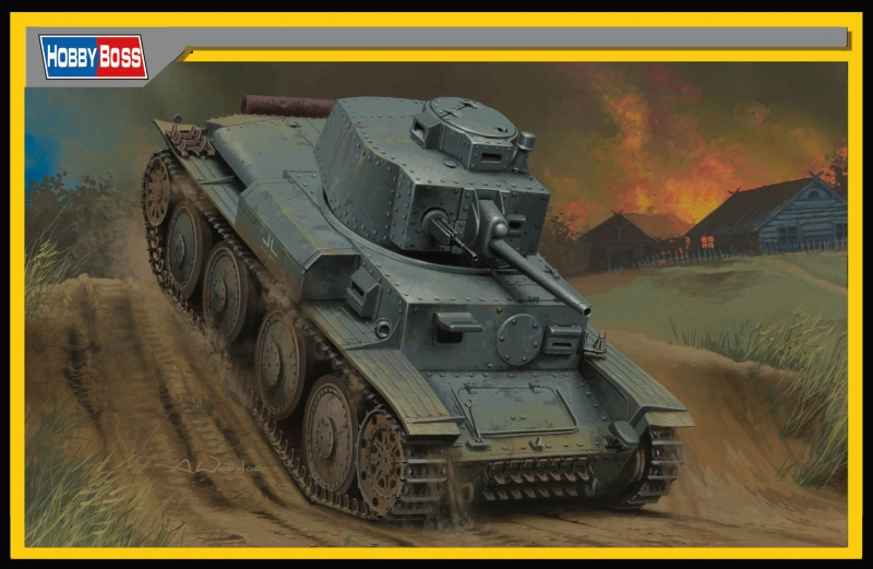 Немецкий танк Pz.Kpfw./Pz.BfWg 38(t) Ausf. G Hobby Boss 80137