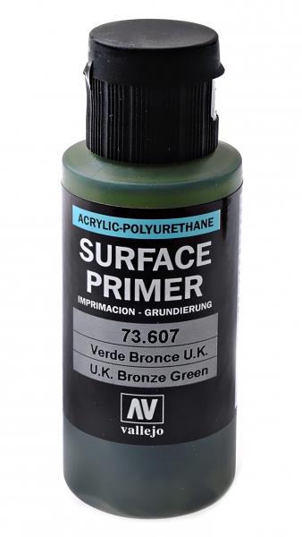 Акрил-полиуретановая грунтовка: U.K. Bronze Green, 60 мл Vallejo 73607