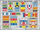 Фототравление 1/350 Международные морские сигнальные флаги