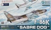 Истребитель F-86K ''Sabre Dog''