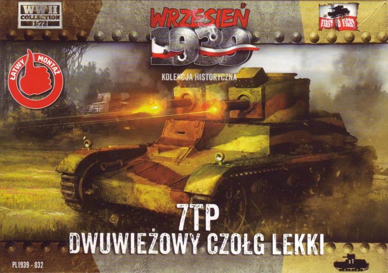 Польский легкий танк 7TP с двойной башней First To Fight 032