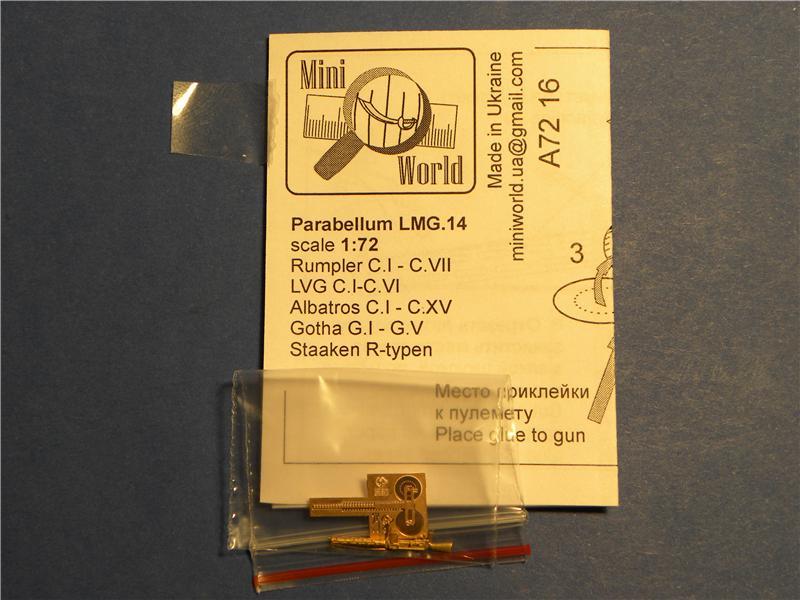 Parabellum LМG.14 Mini World 7216