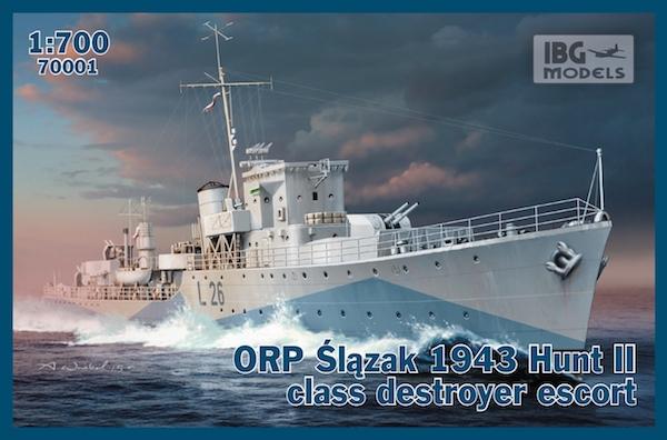 Эсминец класса эскорт ORP ''Slazak'', 1943 IBG Models 70001