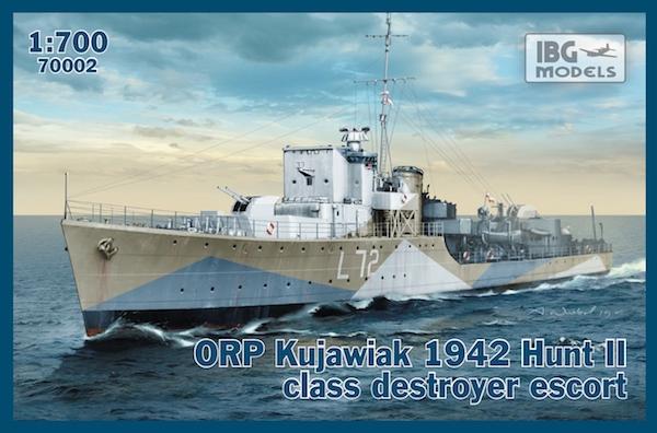 Миноносец класса эскорт ORP ''Kujawiak'', 1942 IBG Models 70002