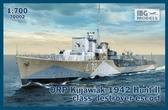 Миноносец класса эскорт ORP ''Kujawiak'', 1942
