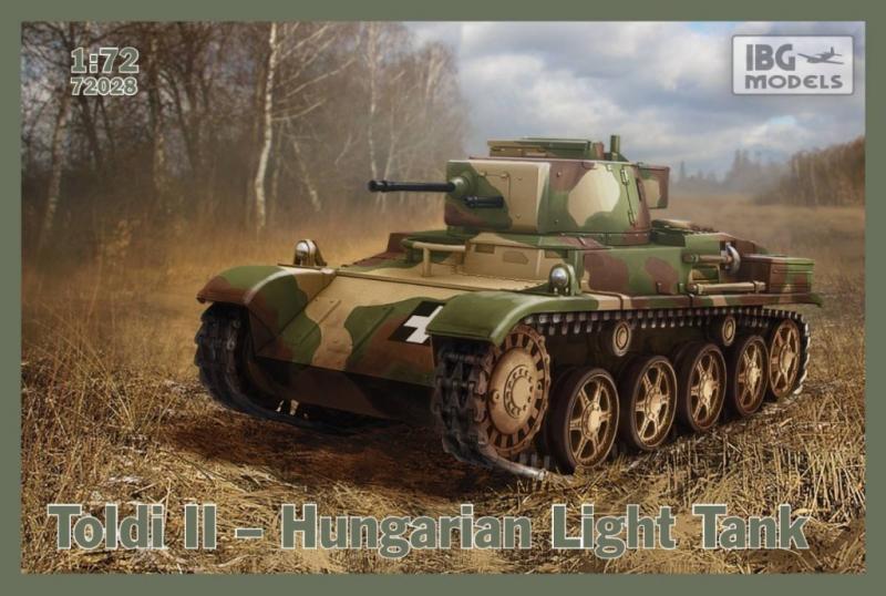 Венгерский легкий танк Toldi II IBG Models 72028