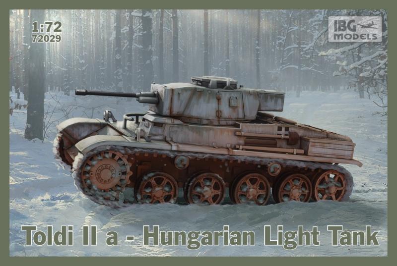 Венгерский легкий танк Toldi IIa IBG Models 72029