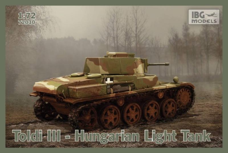 Венгерский легкий танк Toldi III IBG Models 72030
