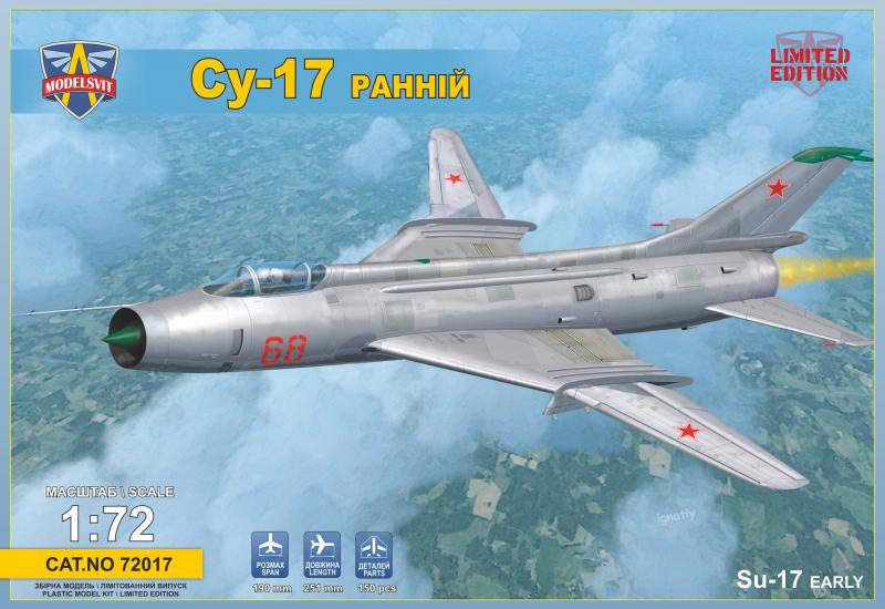 Истребитель-бомбардировщик Су-17, ранний ModelSvit 72017