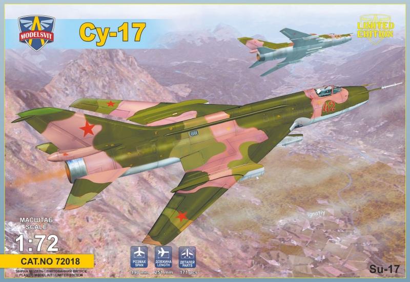 Истребитель-бомбардировщик Су-17 ModelSvit 72018