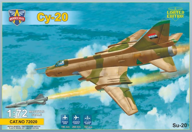 Истребитель-бомбардировщик Су-20 ModelSvit 72020