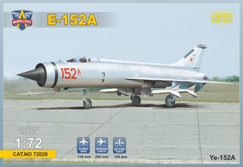 Экспериментальный истребитель Е-152А ModelSvit 72028
