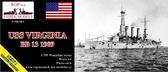Корабль ''Virginia'' BB-13, 1909