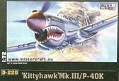 Истребитель P-40 K Kittyhawk Mk.III