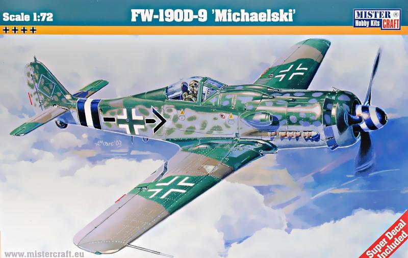 Истребитель Fw-190 D-9 Michaelski Mister Craft 09