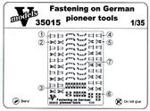 Крепление немецкого шансового инструмента
