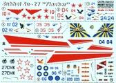 Декаль для самолета Су-27
