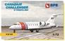 Пассажирский самолет CanadAir Challenger C-143A/CL-604 Big Planes kits 7210 основная фотография