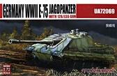 Немецкий тяжелый танк E-75 ''Jagdpanther'' с 128 мм пушкой L55