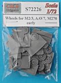 Катки для БТР M2/3, AAV7, M270, ранние