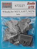Катки для БТР M2/3, AAV7, M270, поздние