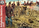 Австрийская артиллерия, 1859 г. Война за независимость Италии