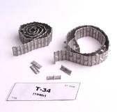 Металлические траки на Т-34 (обр. 1940 года) (собранные в ленту)