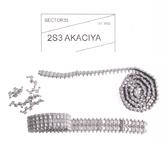 Металлические траки для 2S3 ''Akatsiya'' (собранные в ленту)